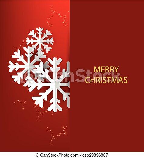 Tarjeta de Navidad. Vector enfermo - csp23836807