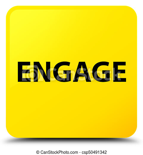 Engage yellow square button - csp50491342