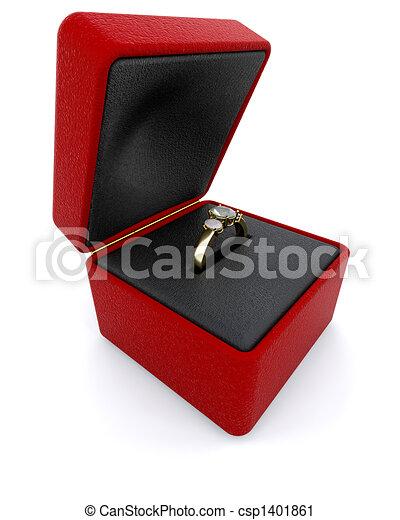 Engagement ring - csp1401861