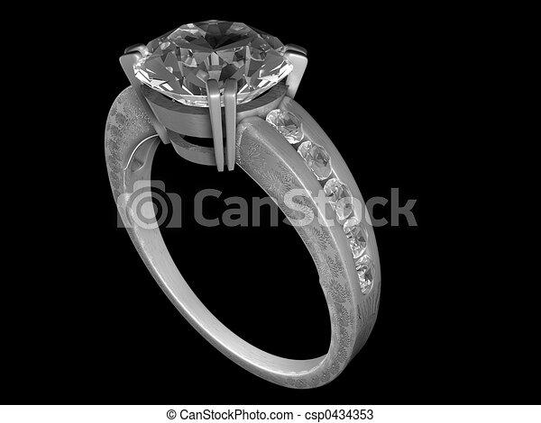 Engagement ring - csp0434353