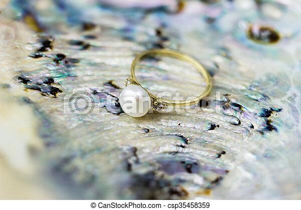 Engagement ring - csp35458359