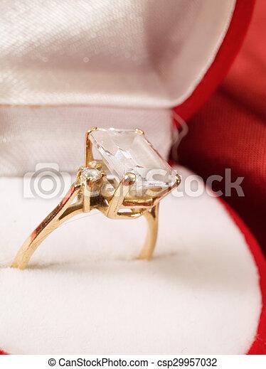 Engagement Ring - csp29957032
