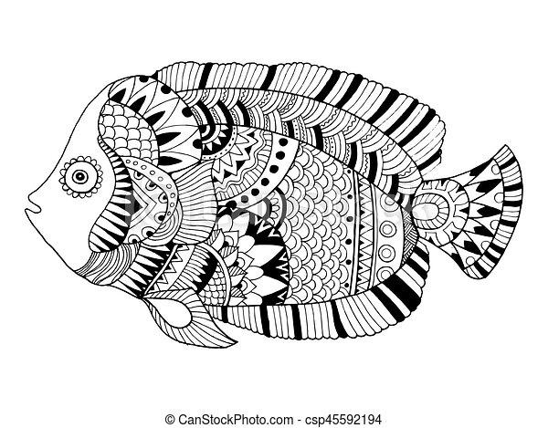 Groß Angler Fisch Färbung Seite Galerie - Framing Malvorlagen ...