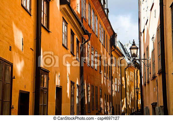 engen straße, stockholm - csp4697127