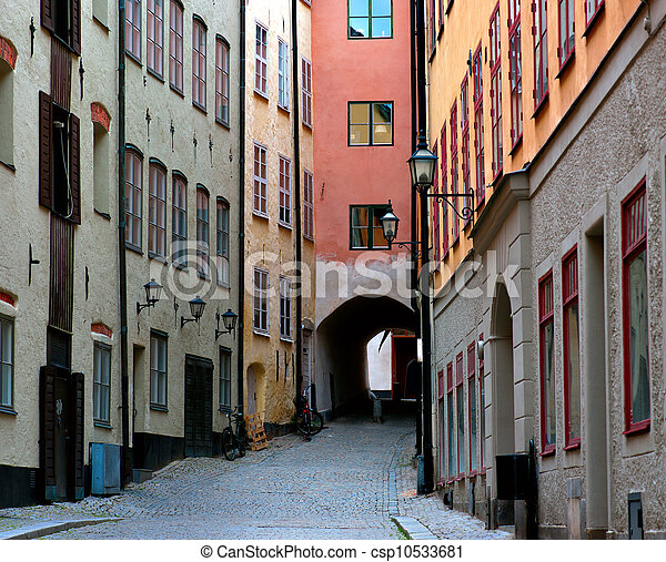 engen straße, stockholm - csp10533681