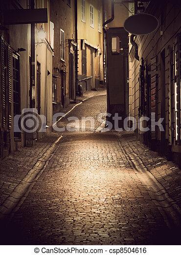engen straße, stockholm - csp8504616