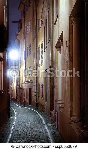 engen straße, stockholm - csp6553679