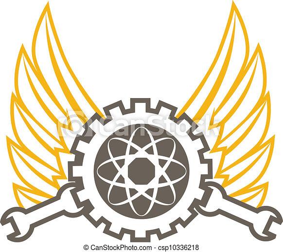 engenharia, ícone - csp10336218