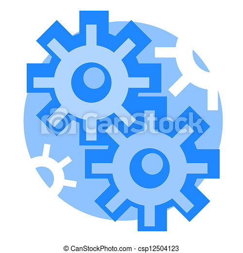 engenharia, ícone - csp12504123