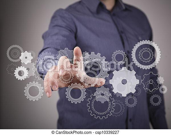 engenharia, desenho, imagem - csp10339227