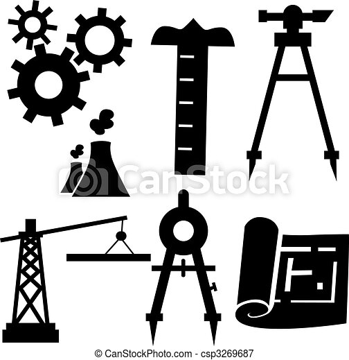 engenharia, jogo, ícone - csp3269687