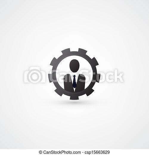 engenharia, símbolo - csp15663629