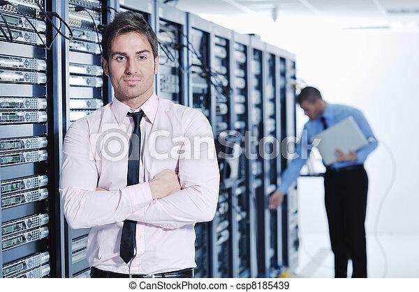 engenheiros, quarto usuário, rede, aquilo - csp8185439