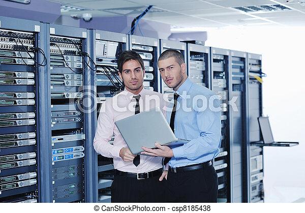 engenheiros, quarto usuário, rede, aquilo - csp8185438