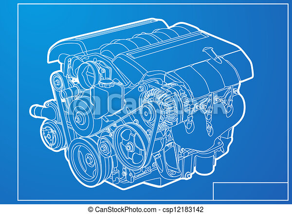 Engine - csp12183142