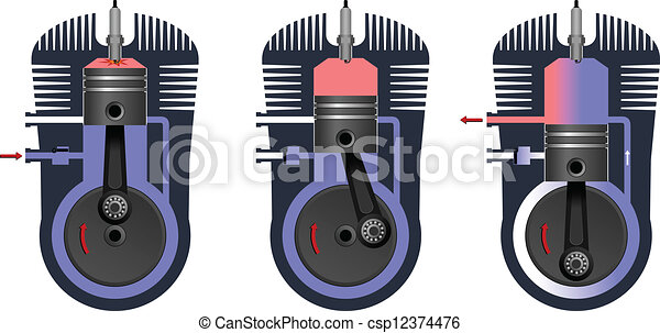 Engine - csp12374476