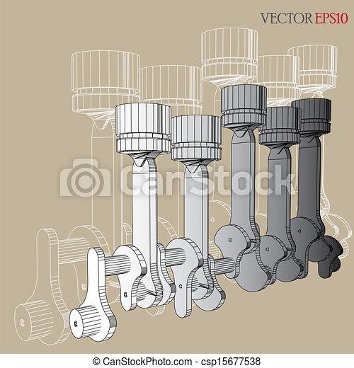 Engine of Vector Sketch - csp15677538