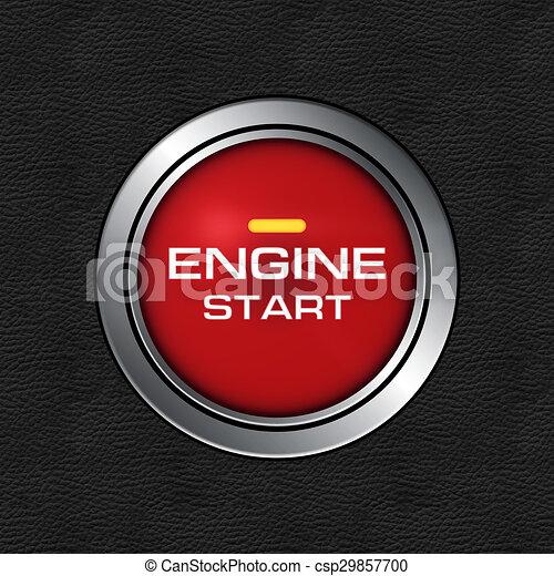 engine start button engine start stop button of a modern car Start Engine Button Keys engine start button csp29857700