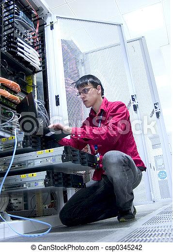 Engineer at Work - csp0345242