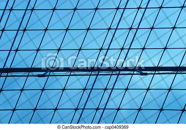 Engineering blue background - csp0409369