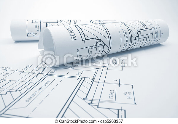 Engineering blueprints - csp5263357