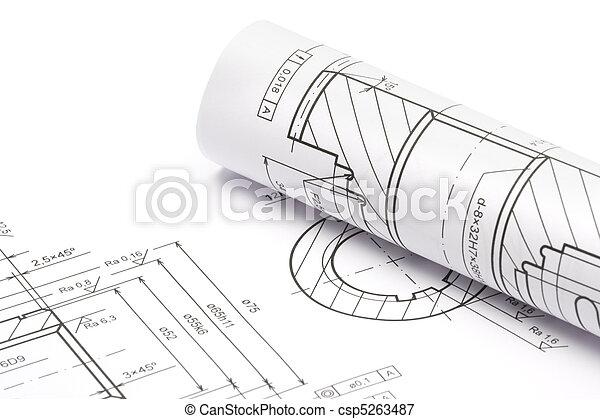 Engineering blueprints - csp5263487