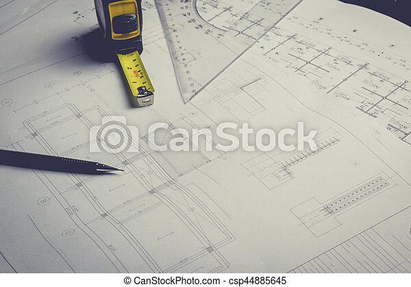 Engineering diagram blueprint paper drafting project sketch stock engineering diagram blueprint paper drafting project sketch csp44885645 malvernweather Image collections