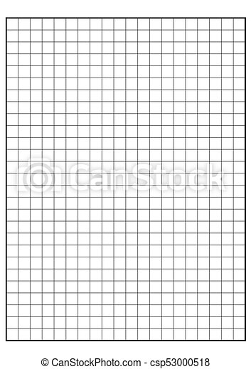 Engineering Graph Paper Printable Graph Paper Vector  Vector Clip