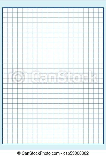 engineering graph paper printable graph paper vector illustration rh canstockphoto com Grid Line Paper Paper Clip Art