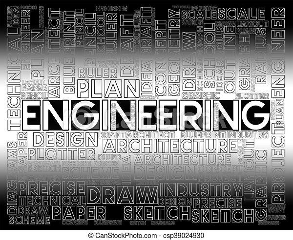 Engineering words shows employment job and career engineering words engineering words shows employment job and career csp39024930 malvernweather Gallery