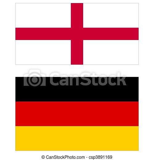 england and germany flags england vs germany flags of the two rh canstockphoto com german flag clipart free germany flag clip art