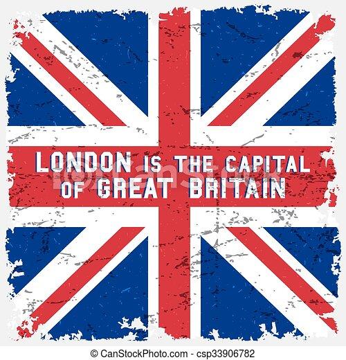 England flag poster - csp33906782