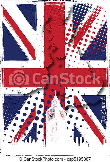 england poster - csp5195367