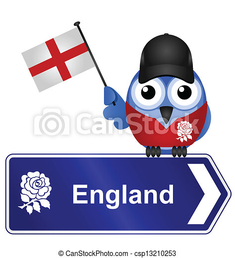 comical england sign isolated on white background rh canstockphoto com map of england clipart england clipart