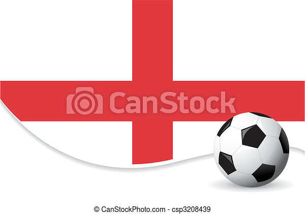 England world cup background - csp3208439