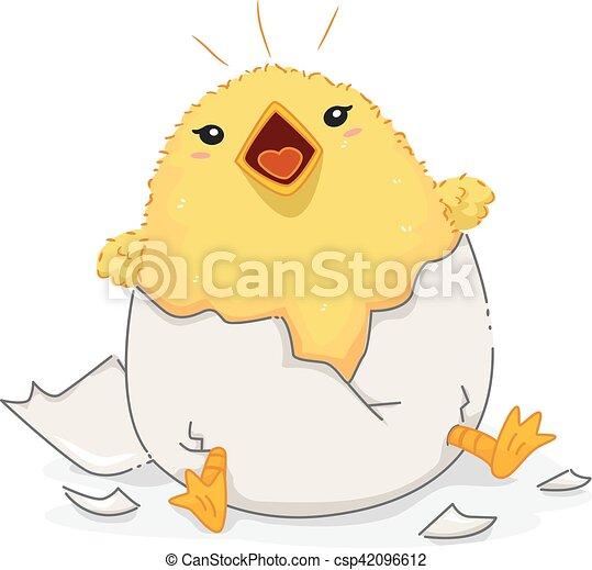 English Antonym Chick Noisy Chirping