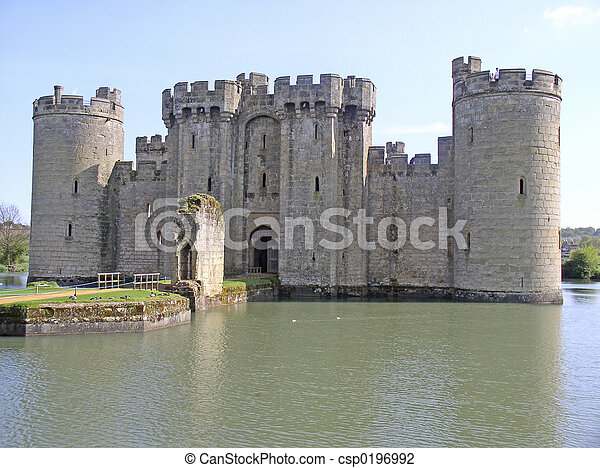 English castle - csp0196992