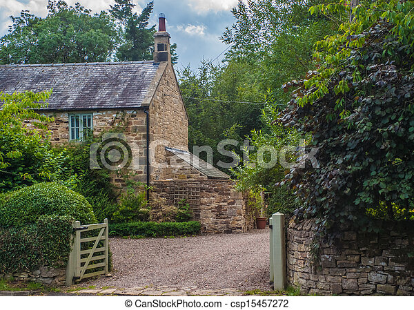 English Stone Cottage picture of english country stone cottage csp15457272 - search