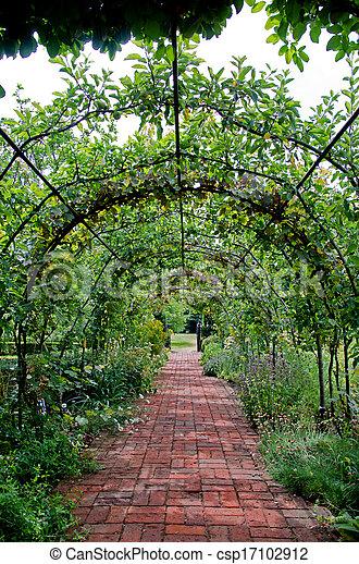 Ordinaire English Garden Pergola   Csp17102912