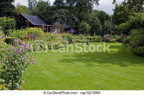 english garden - csp10213900