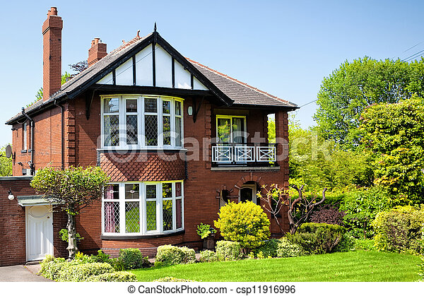 English house - csp11916996
