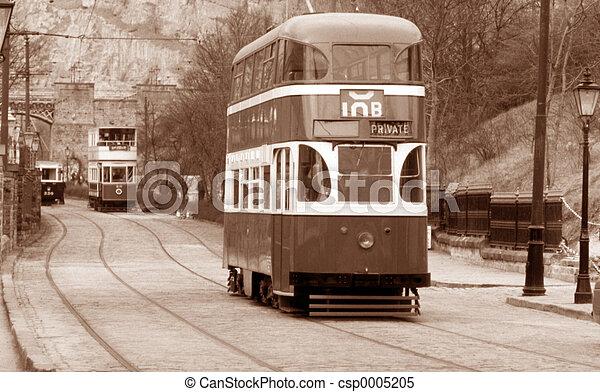 English Tram bus - csp0005205