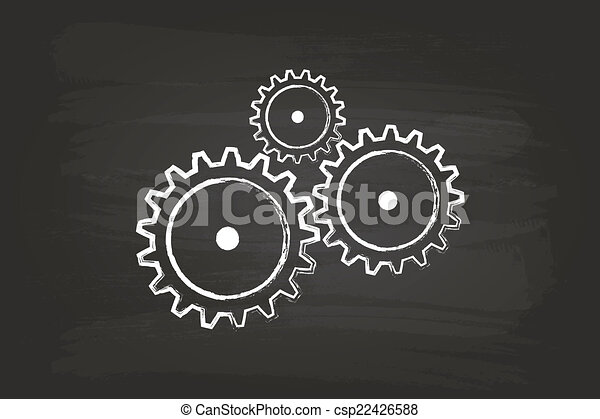 Mecanismo de marcha - csp22426588