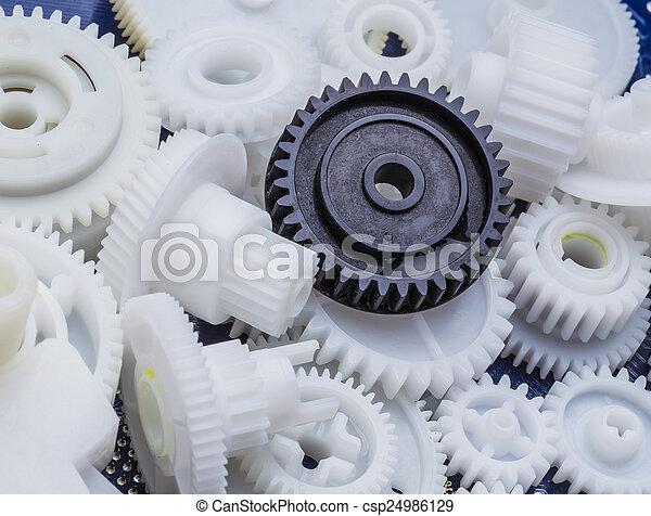 El equipo de plástico - csp24986129