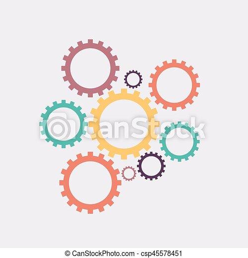 Engranajes - csp45578451