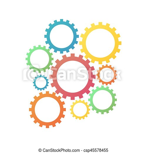 Engranajes - csp45578455