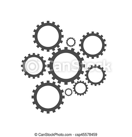 Engranajes - csp45578459