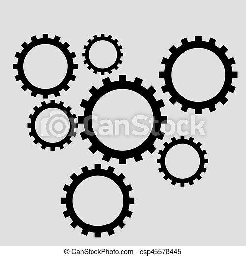 Engranajes - csp45578445