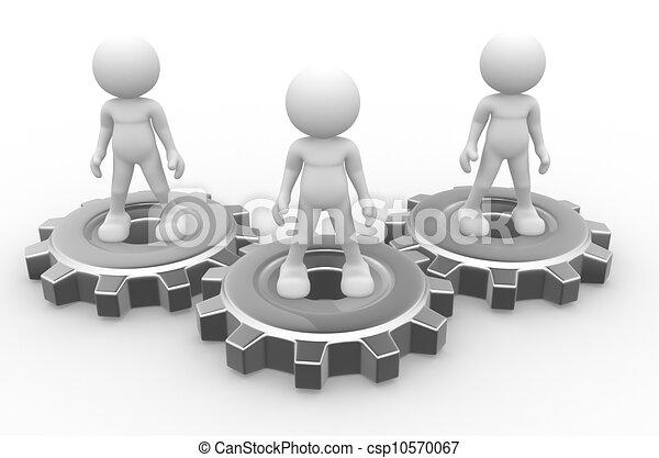 engrenagem, mecanismo - csp10570067