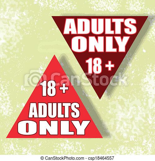 enige volwassenen - csp18464557